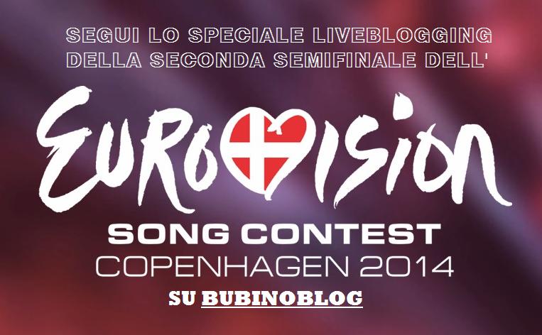 Eurovision, seconda semifinale