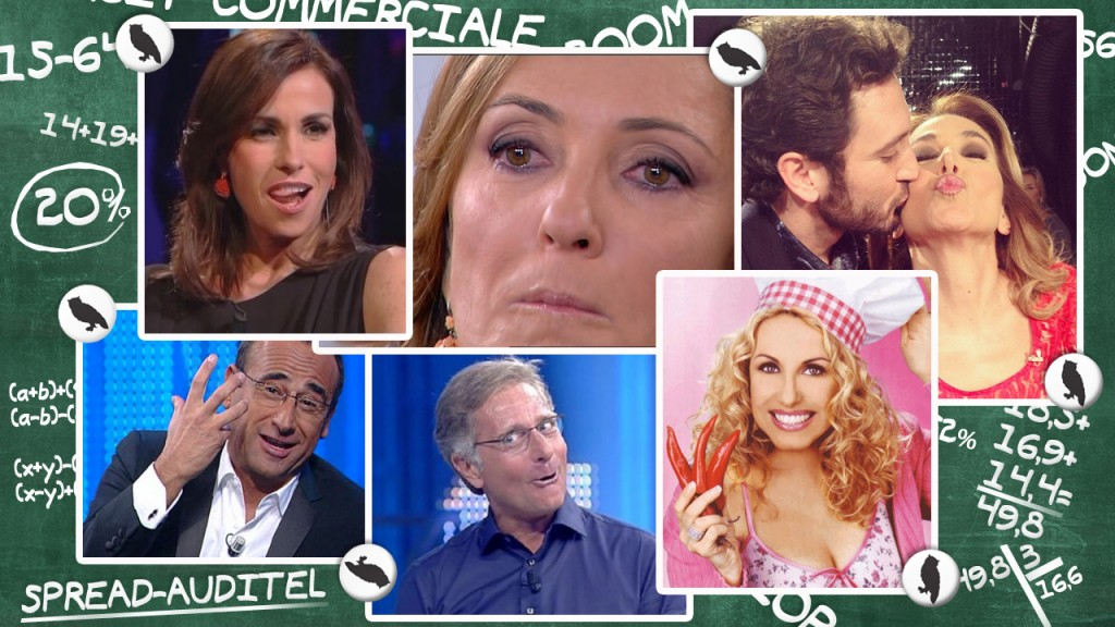 SPREAD-AUDITEL DAL 31 MAGGIO AL 6 GIUGNO 2015: NUOVI DAY TIME A CONFRONTO E NUOVE TABELLE. IN PRIME TIME SETTIMANA DA INCORNICIARE PER CANALE 5, CON LE FINALI DI CHAMPIONS LEAGUE E DI AMICI IN TESTA ALLA CLASSIFICA, MENTRE RAI 1 SI ACCONTENTA DEI WIND MUSIC AWARDS
