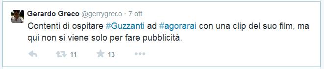 TWITTER FOLIES: SABINA GUZZANTI VS AGORA' E GERARDO GRECO TTTTT