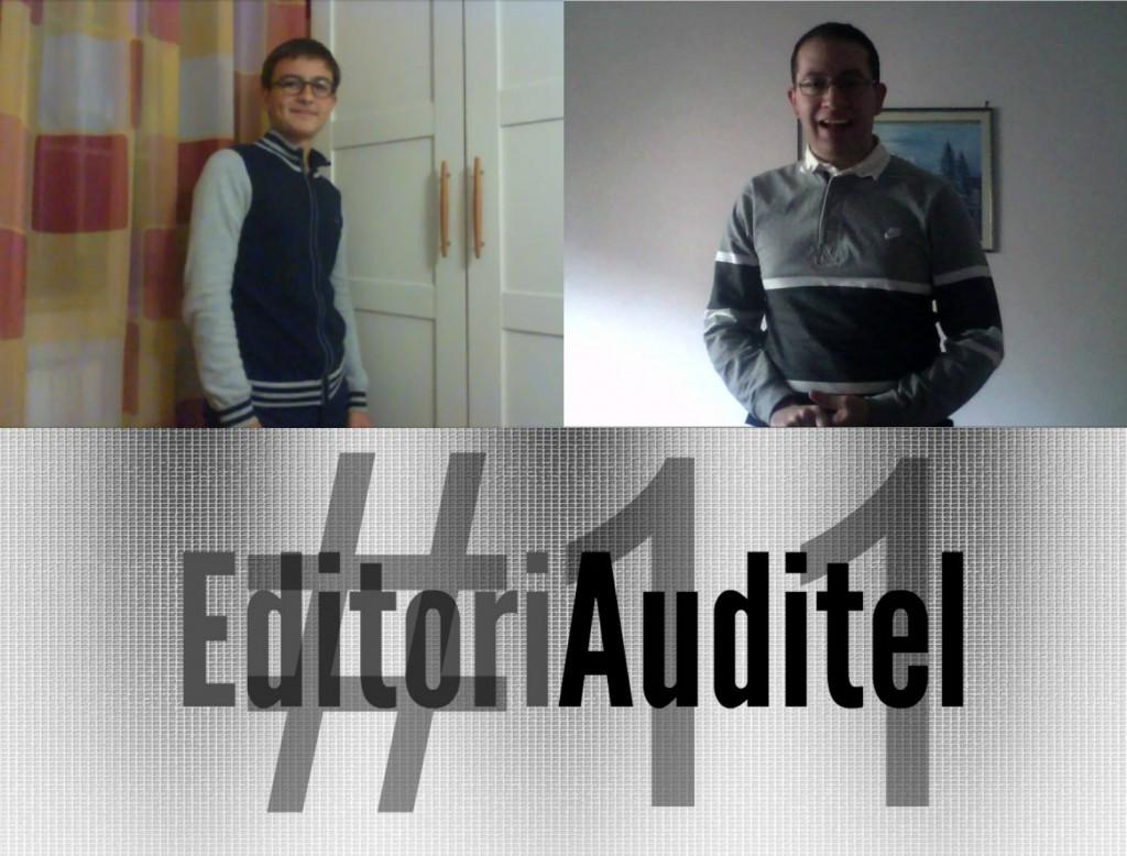 EDITORIAUDITEL #11 | AGGIORNAMENTI PALLOTTOLIERE; TOP TEN OF THE WEEK; ESCLUSIVA TARGET DOMENICA 16; COMMENTI A CONFRONTO SULLO JESC 2014; SPECIALI SALUTI A…