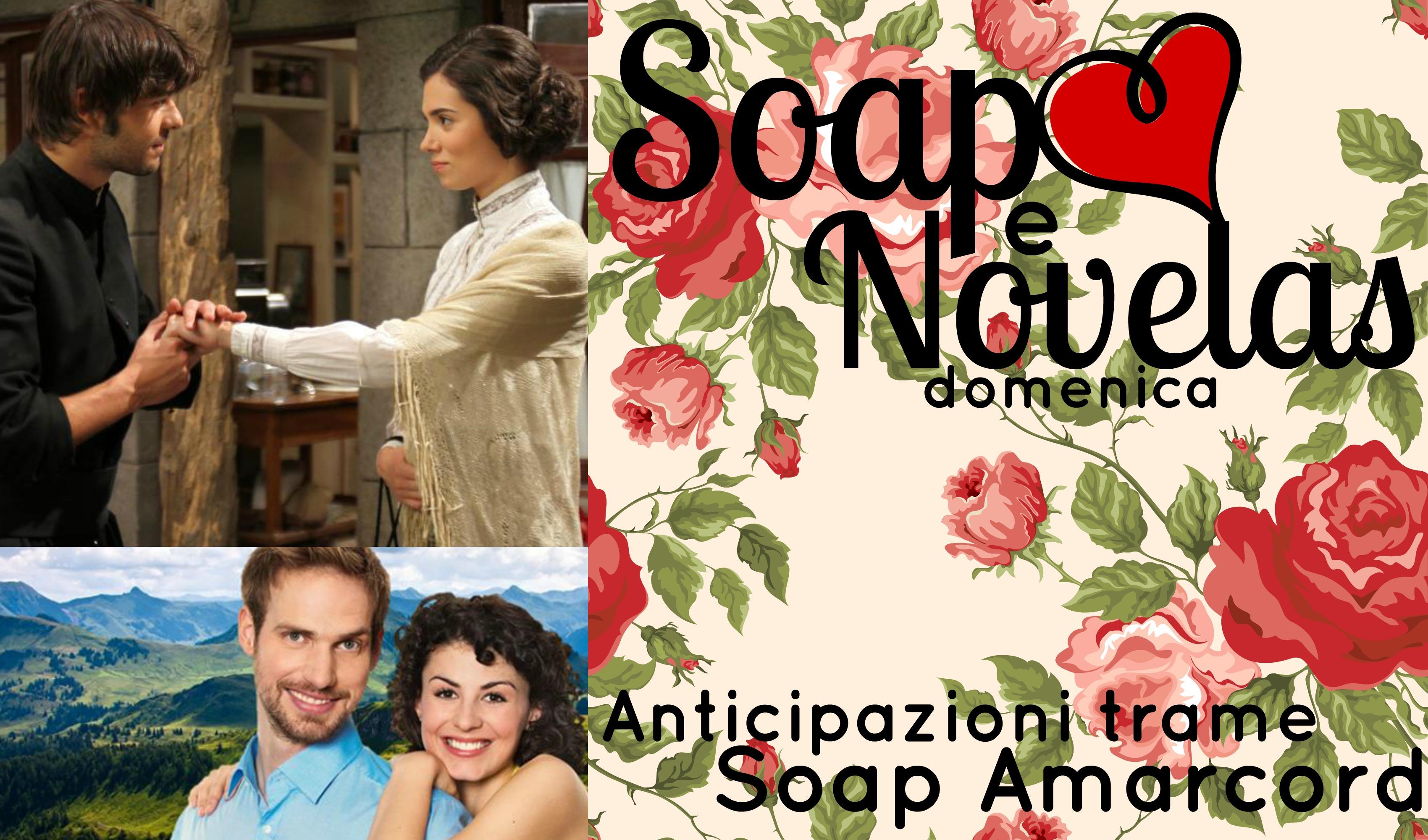SOAP&NOVELAS ANTICIPAZIONI TRAME 30 NOVEMBRE-6 DICEMBRE 2014: IL SEGRETO, TEMPESTA D'AMORE | LA SOAP DEI LETTORI: ANACONDA