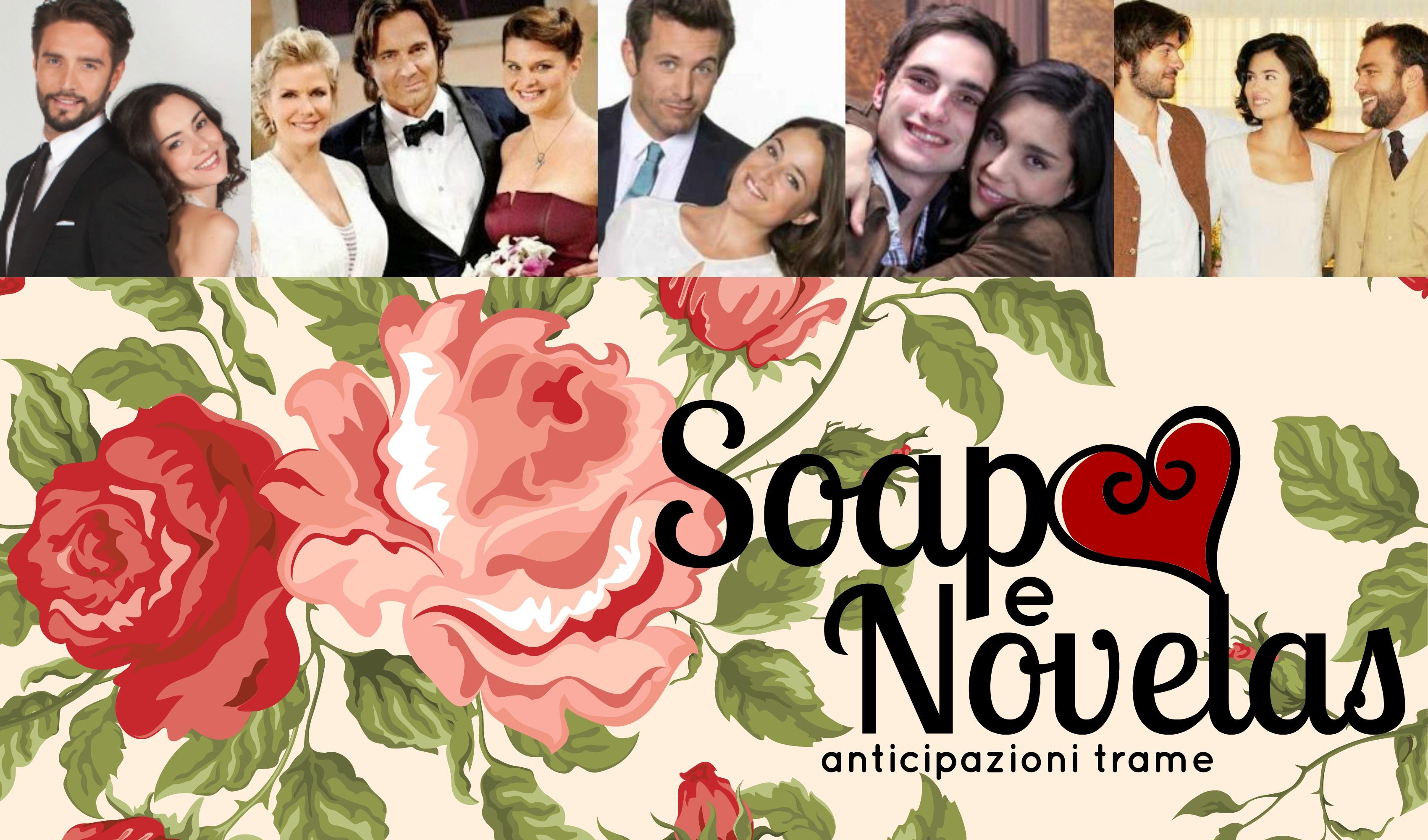 SOAP&NOVELAS | ANTICIPAZIONI TRAME 29 MARZO - 4 APRILE 2015: BEAUTIFUL, IL SEGRETO, TEMPESTA D'AMORE, UN POSTO AL SOLE