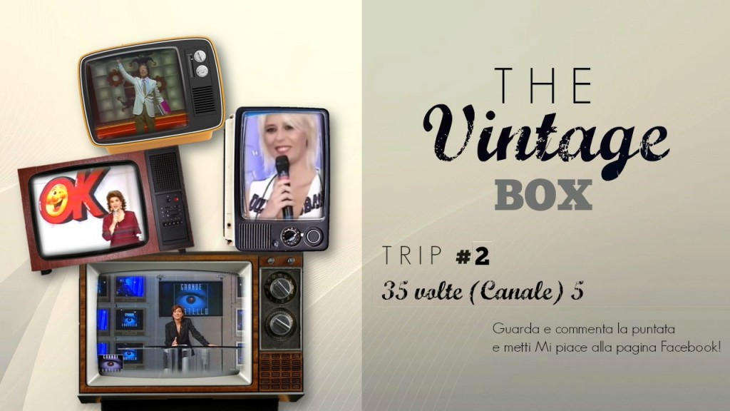 THE VINTAGE BOX - 35 VOLTE (CANALE) 5 CopertinaTVB2