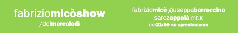 BUBINOBLOG BY XMAS 16 DICEMBRE 2015| ASCOLTA IN DIRETTA SU SPREAKER LA TRENTUNESIMA ED ULTIMA PUNTATA DEL <em>FABRIZIO MICÒ SHOW 7</em>