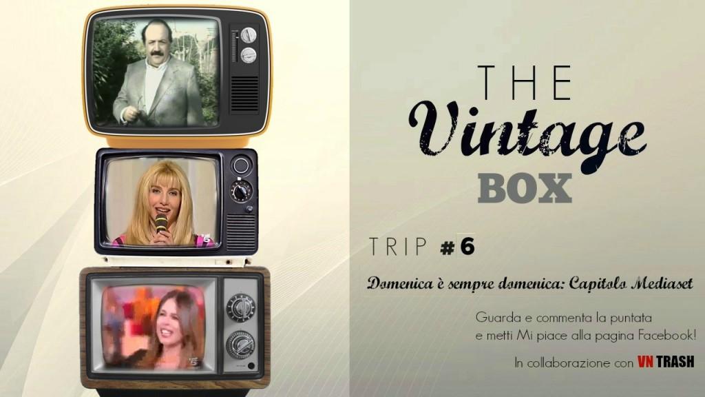 <strong>THE VINTAGE BOX</strong> - <em>DOMENICA È SEMPRE DOMENICA: CAPITOLO MEDIASET</em> (BUONA DOMENICA STORY) CopertinaTVB6