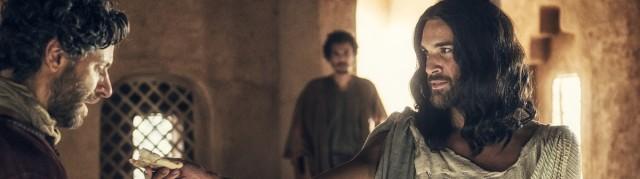 PARTONO OGGI – SPECIALE FICTIONERÒ:<br /> <b>A.D. LA BIBBIA CONTINUA</b> PRIMO APPUNTAMENTO <br /> IN PRIMA ASSOLUTA SU CANALE 5