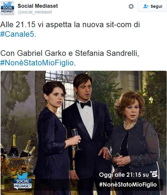 """NON È STATO MIO FIGLIO PER MEDIASET È UNA """"SIT-COM"""": CLAMOROSO ERRORE O PERCULO INTERNO?"""