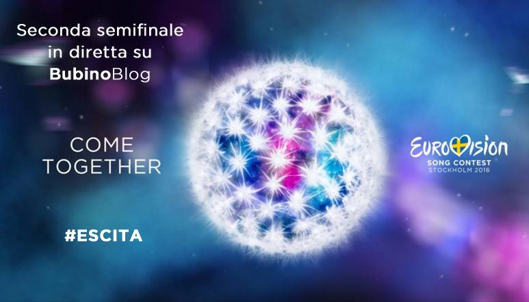 EUROVISION SONG CONTEST 2016 LIVEBLOGGING: COMMENTA IN DIRETTA INSIEME A NOI LA SECONDA SEMIFINALE