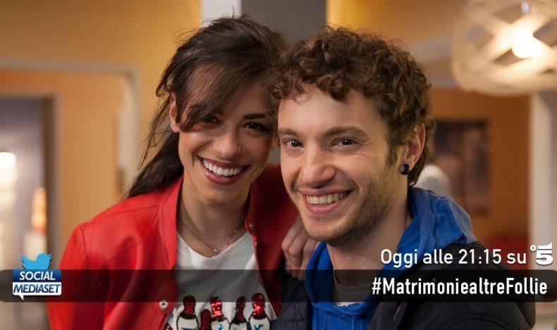 FICTION CLUB MATRIMONI E ALTRE FOLLIE SESTA SERATA, PRIMA ASSOLUTA IN PRIME TIME SU CANALE 5. CON NANCY BRILLI E MASSIMO GHINI