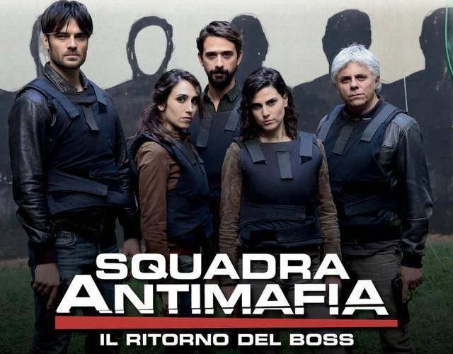 FICTION CLUB: SQUADRA ANTIMAFIA 8 QUARTA PUNTATA IN PRIMA ASSOLUTA SU CANALE 5 CON DANIELA MARRA, GIULIO BERRUTI, ENNIO FANTASTICHINI E PAOLO PIEROBON