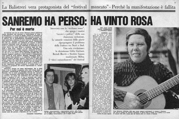 LA STORIA DEL FESTIVAL DI SANREMO 1973 23° EDIZIONE. LA CRISI IRREVERSIBILE. L'ARRIVO DI SALVETTI. IL FESTIVAL DELLA MUTUA (a cura di Sante Longo)