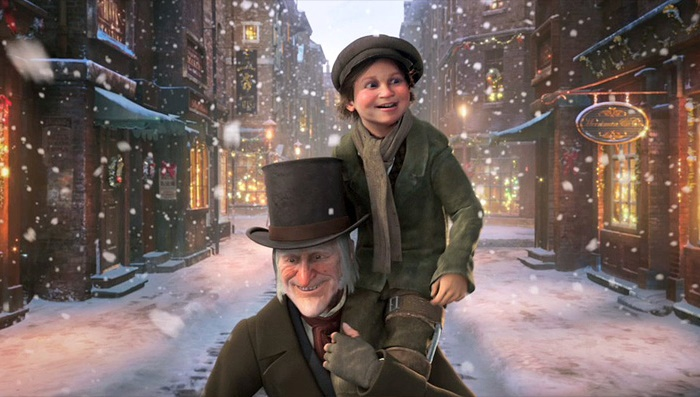 STASERA IN TV & TOTOSHARE 25 DICEMBRE 2016 a_christmas_carol_film_2009