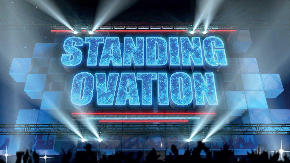 STASERA IN TV & TOTOSHARE 17 FEBBRAIO 2017 STANDING OVATION