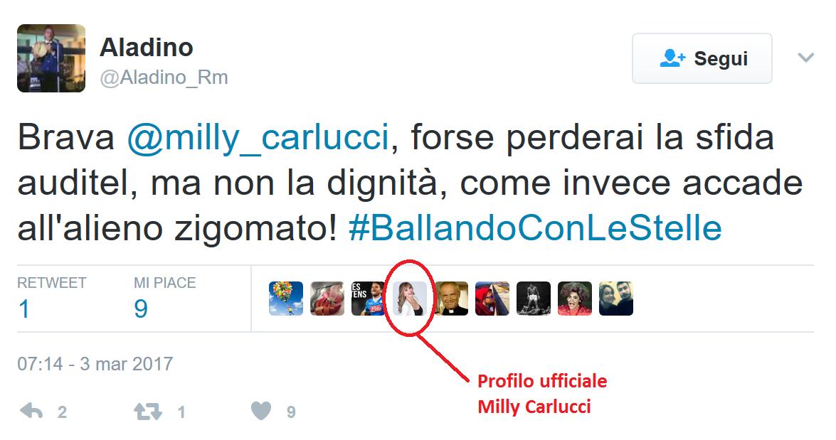 """MILLY CARLUCCI E QUEL """"MI PIACE"""""""