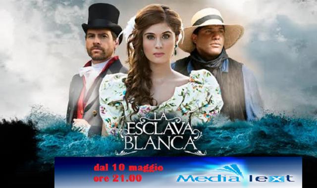 LA ESCLAVA BLANCA ARRIVA IN ITALIA SU MEDIATEXT DAL 10 MAGGIO ALLE 21