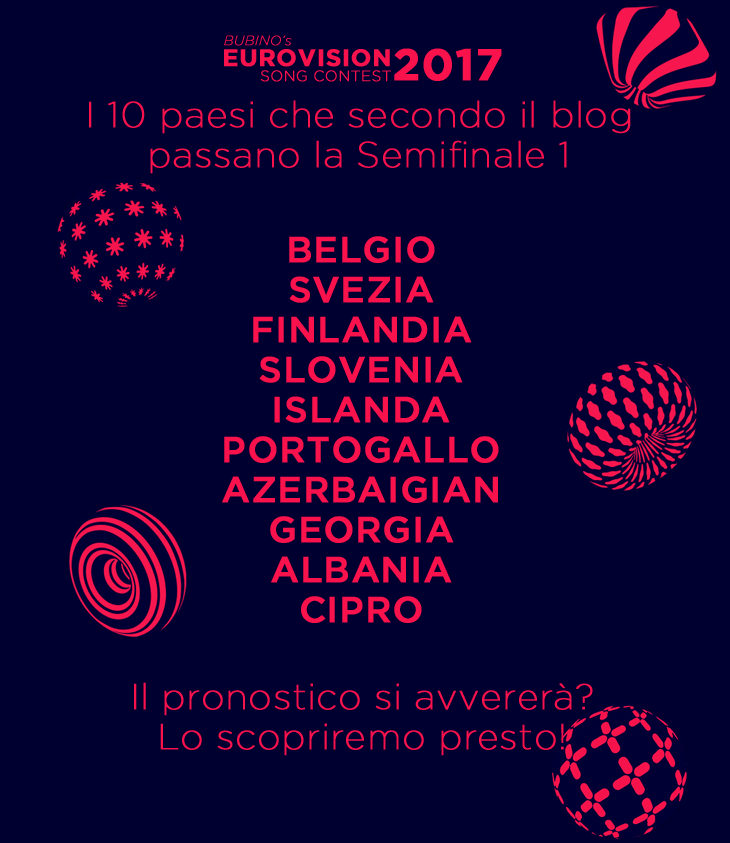 EUROVISION SONG CONTEST 2017  | LIVEBLOGGING | COMMENTA CON NOI LA SEMIFINALE 1