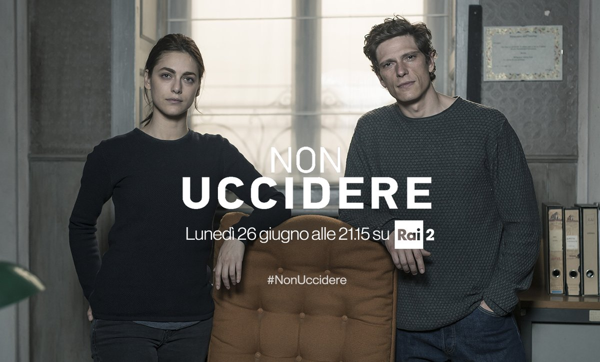 FICTION CLUB NON UCCIDERE 2 QUINTA PUNTATA CON MIRIAM LEONE IN PRIMA TV FREE SU RAIDUE