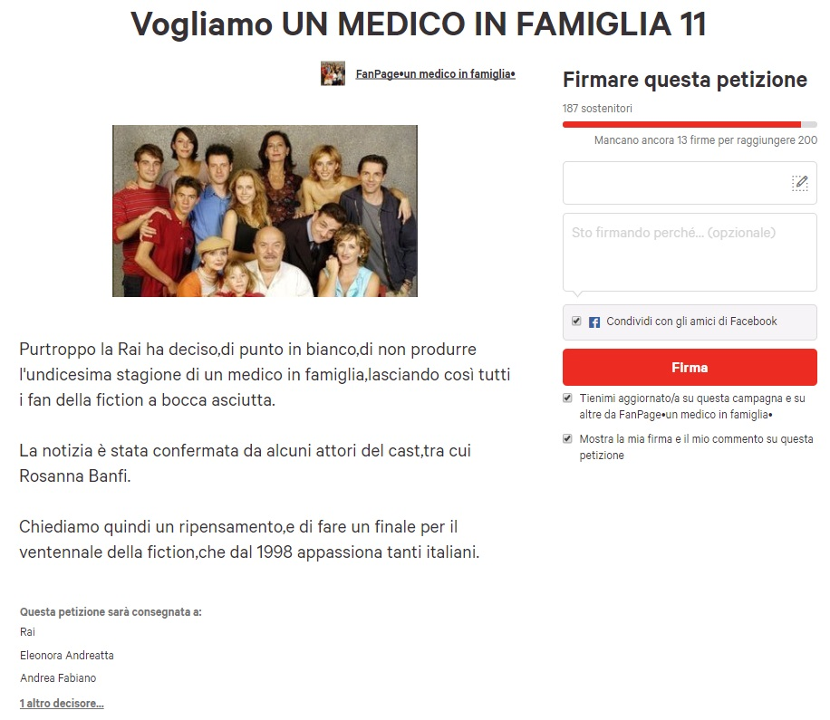 LA FINE DI UN'ERA: CHIUDE UN MEDICO IN FAMIGLIA!!!