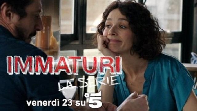 FICTION CLUB IMMATURI LA SERIE SESTA PUNTATA SU CANALE5