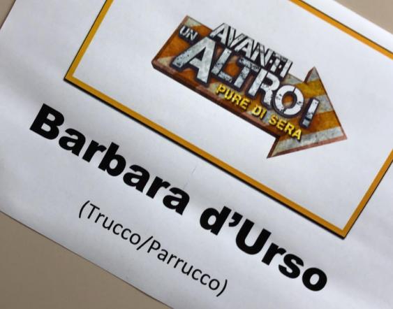 BARBARA D'URSO OSPITE D'ONORE  AD AVANTI UN ALTRO!