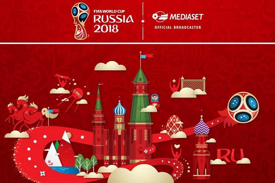 #MONDIALIMEDIASET DI #RUSSIA2018 GLI ASCOLTI IN TV