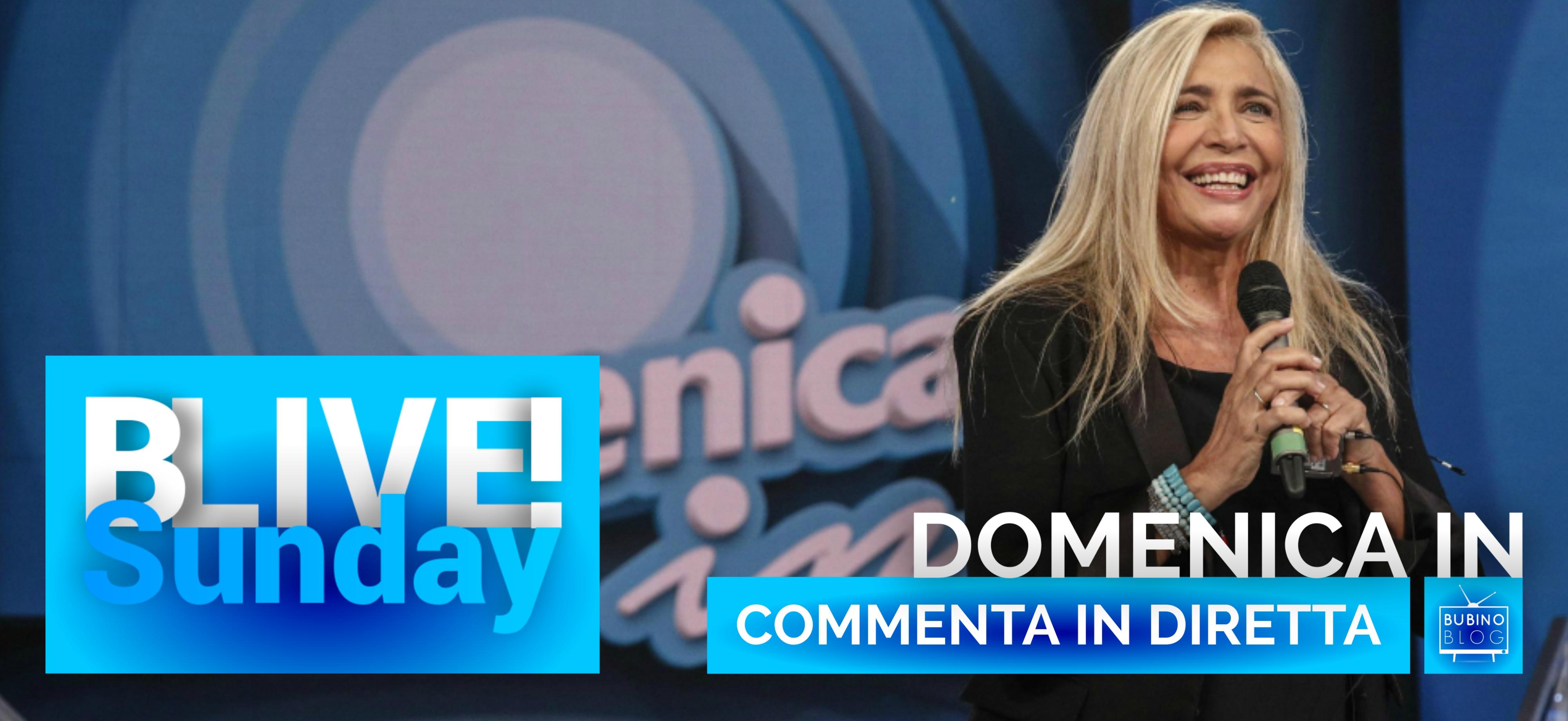 BLIVESUNDAY 7 APRILE 2019 DOMENICAIN | COMMENTA IN DIRETTA LA TRENTESIMA PUNTATA DI #DOMENICAIN, CON MARA VENIER SU RAIUNO